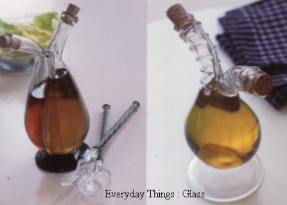 Double necked cruets from Everyday Thnigs: Glass