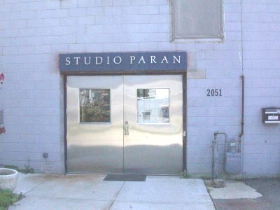 Studio Paran, Madison WI, entrance