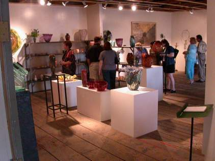 Jim Bowman's gallery during open house