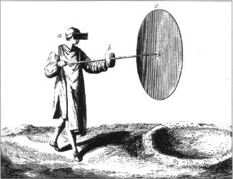 Image of Crown Glass being spun (click for original site)