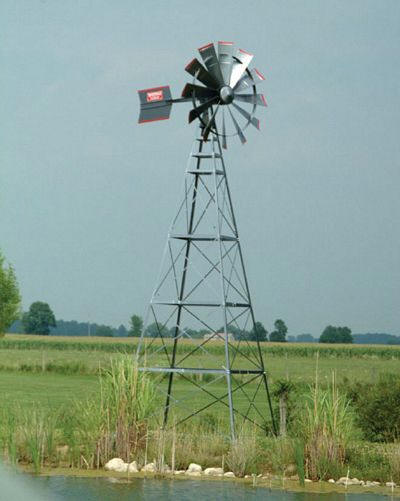 Windmill image of actual working windmill air pump (click to see on source site)